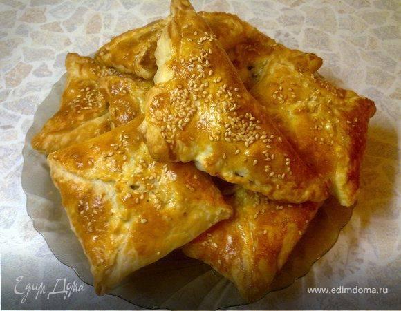 Пирог с курицей и яйцом рецепт