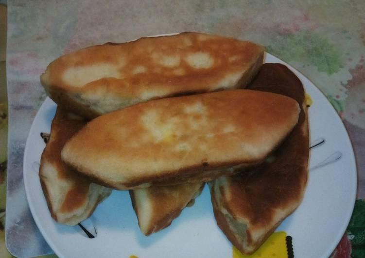 Закусочные булочки - 5 пошаговых фото в рецепте