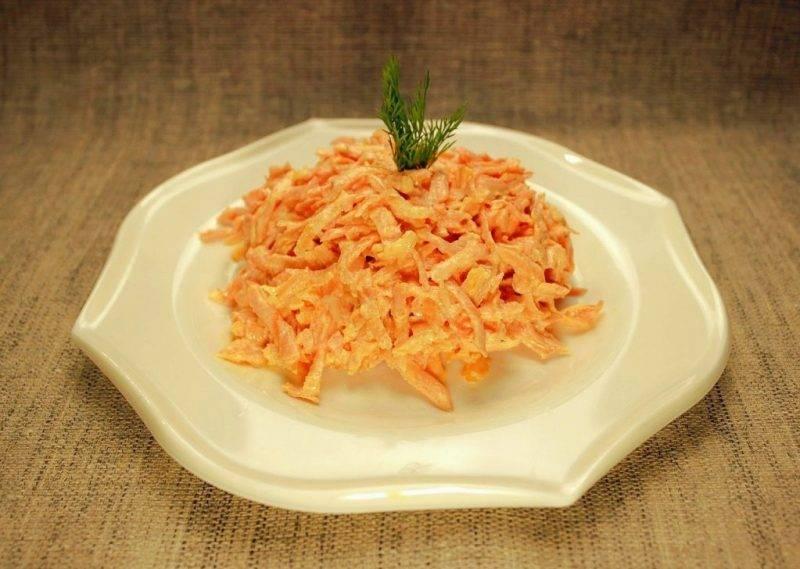 Салат из моркови с грецким орехом – яркое и полезное удовольствие. топ-10 лучших рецептов салатов с морковью и грецкими орехами