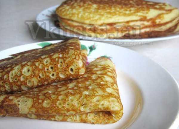 Постные оладьи без яиц и молока