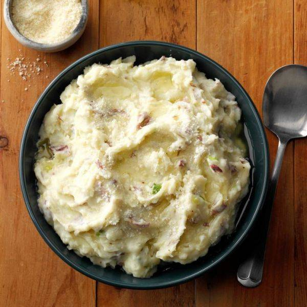 Делаем картофельное пюре с чесночным маслом