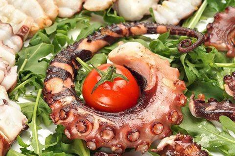 Как готовить осьминогов маленьких замороженных