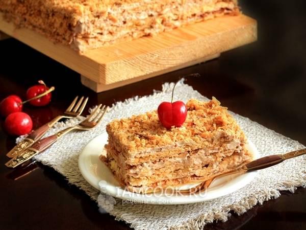 """Торт """"наполеон"""" классический (из домашнего теста)"""