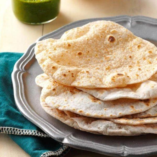 Чапати – индийские лепешки из цельнозерновой муки на сковороде рецепт | гранд кулинар