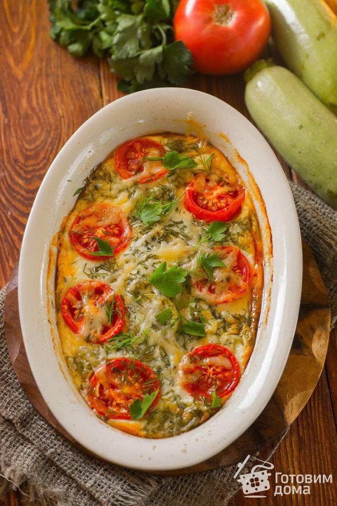 Курица с кабачками и картошкой в духовке - 9 пошаговых фото в рецепте