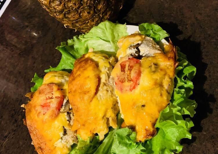 Филе куриное в сливочном соусе на сковороде
