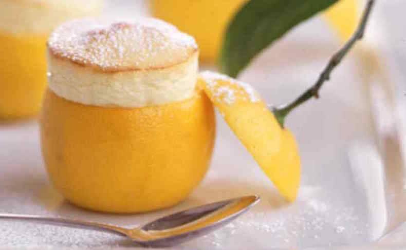 Творожно-лимонное суфле