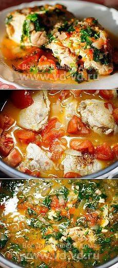 Как приготовить чахохбили из курицы в мультиварке