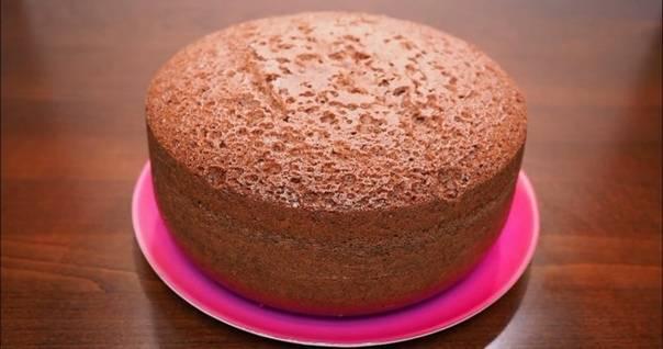 Нежный бисквит на кефире – вкусное лакомство за 30 минут!