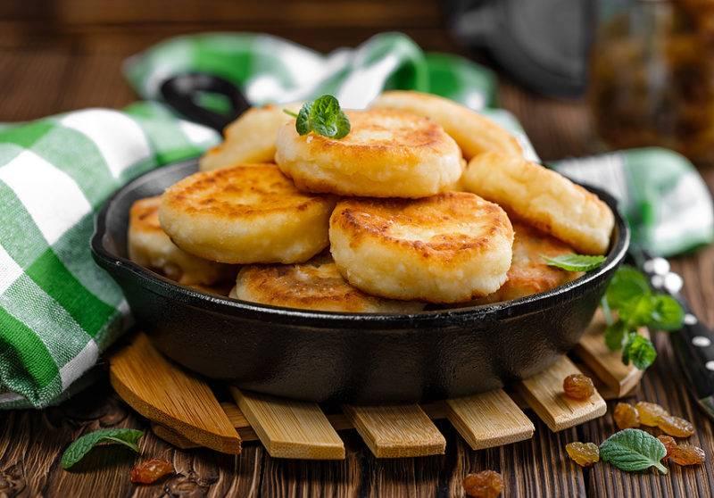 Сырники из творога с манкой рецепт с фото пошагово (пышные и вкусные)