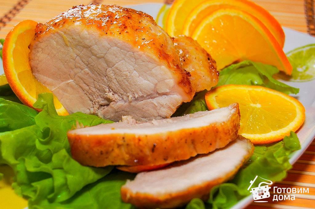 Куриная грудка в апельсиновом соусе
