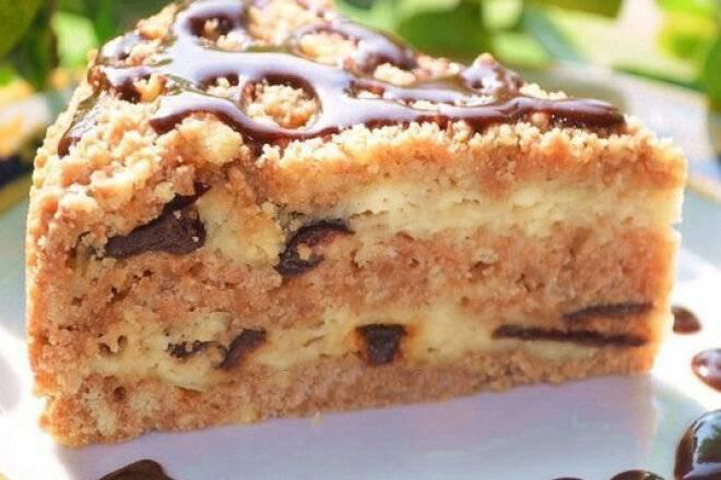 Пирог крошка с творогом » рецепты - готовим дома | «наобед.kz»