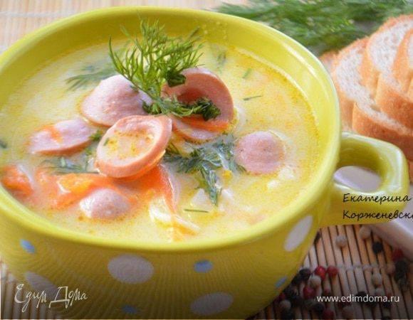 Картофельный суп-пюре с крутонами и беконом