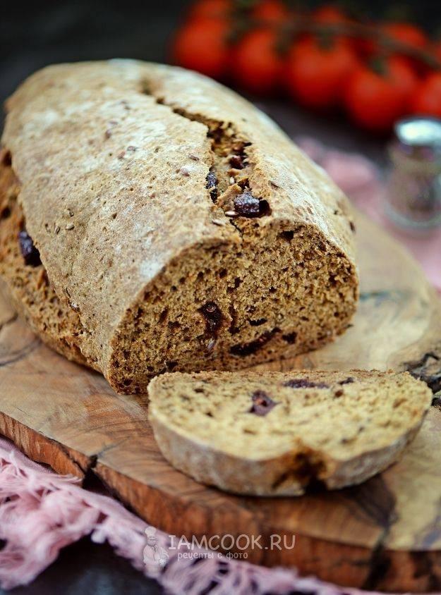 Хлеб ржаной с отрубями на сыворотке