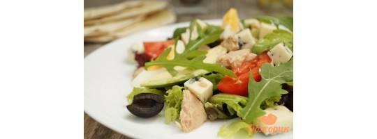Горячий и теплый салат - 23 домашних вкусных рецепта
