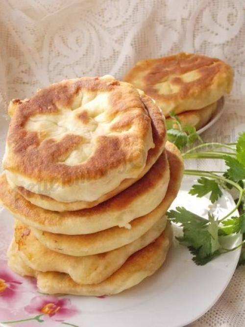 Рецепт лепешек с картошкой