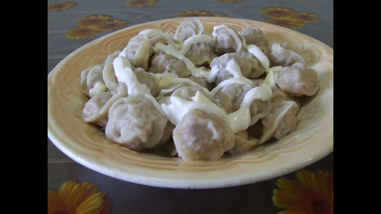 Пельмени – рецепты на поварёнок.ру