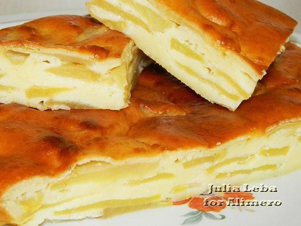 Как испечь кекс с яблоками в духовке и мультиварке