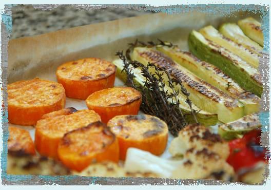 Рецепт овощей, запеченных в духовке - 15 пошаговых фото в рецепте