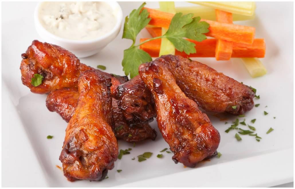 Очень вкусные куриные крылья