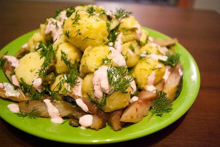 """Картофельный салат """"самый простой"""""""