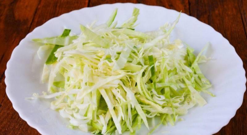 Две заправки для салата из капусты
