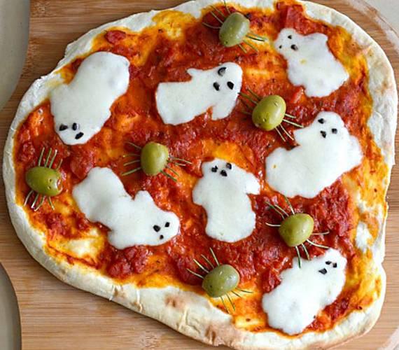 Пицца на хэллоуин − 5 простых рецептов