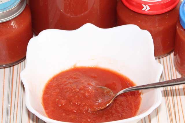 Кетчуп - рецепты