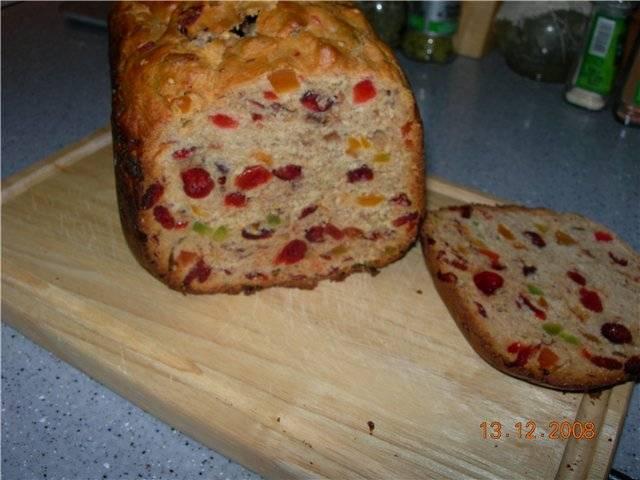 Кофейный кекс из хлебопечи