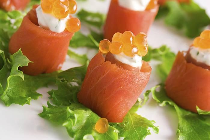 Как приготовить вкусные блинчики с красной рыбой