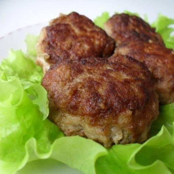 Рецепт: котлеты картофельно-мясные
