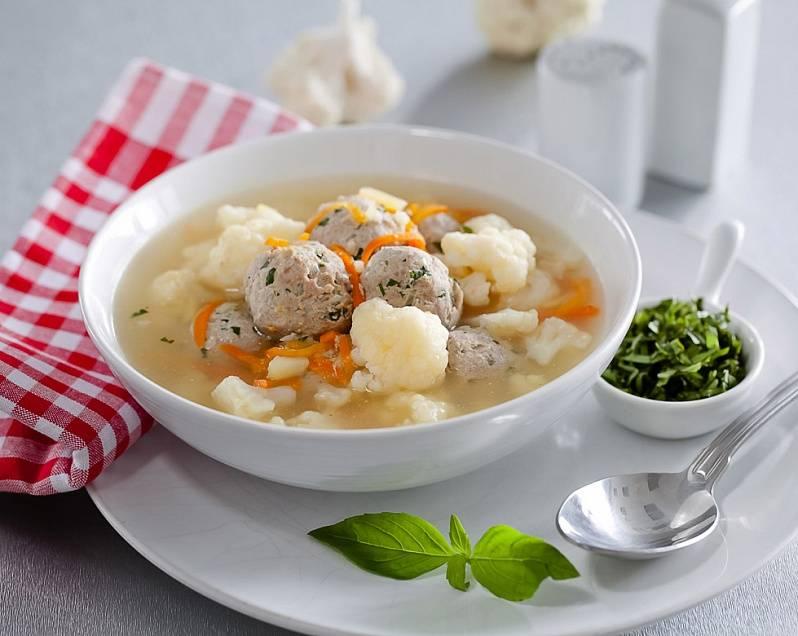Итальянский суп с фрикадельками  рецепт с фото