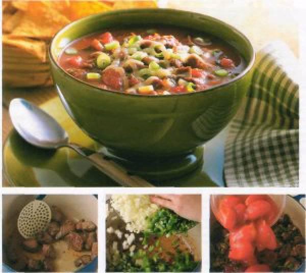 Картофельное пюре с чесноком и зеленым луком - 10 пошаговых фото в рецепте