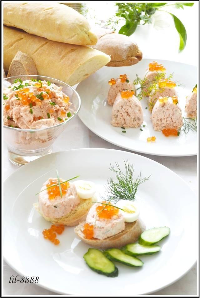 Как сделать рыбный паштет нежнее