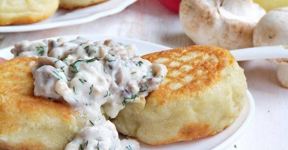 Грибной соус с картофельными котлетами - грибной соус к картофельным котлетам - запись пользователя нина (ninale) в сообществе кулинарное сообщество в категории блюда с грибами - babyblog.ru