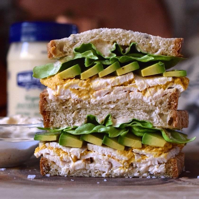 Веганские бутерброды с авокадо рецепт с фото