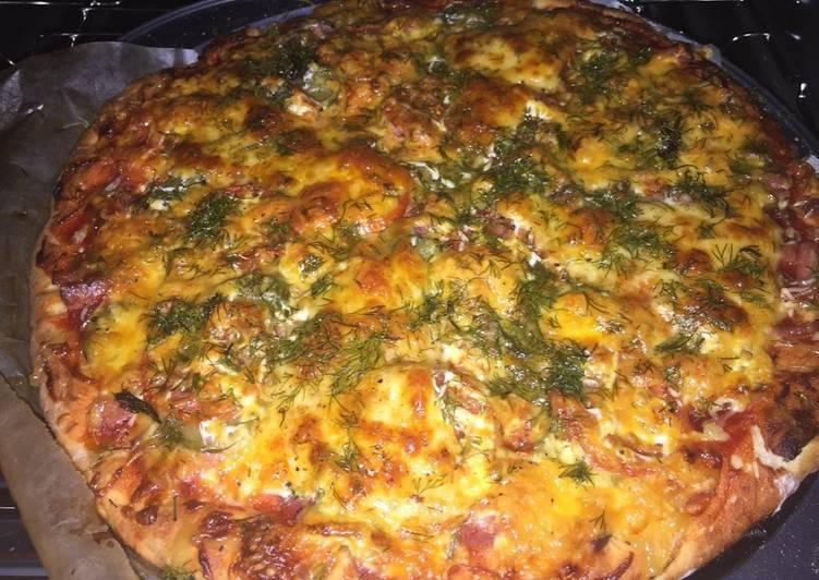 Пицца за 30 минут