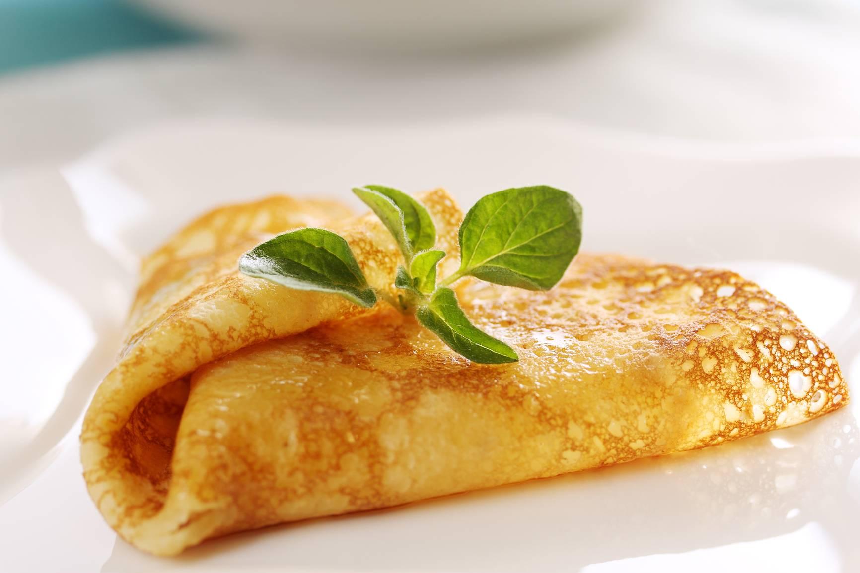 Французские крепы с яблоками – рецепт с фото
