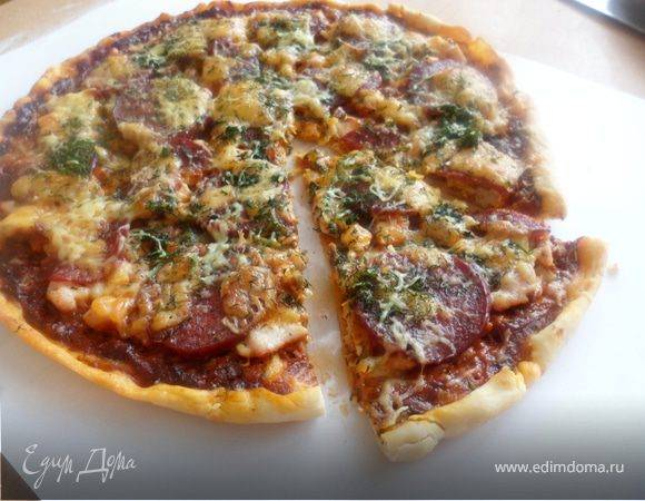 Соус для пиццы как в пиццерии рецепт