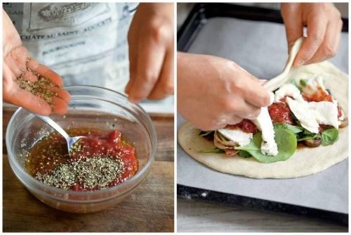 Самое вкусное тесто для пиццы: рецепт с фото