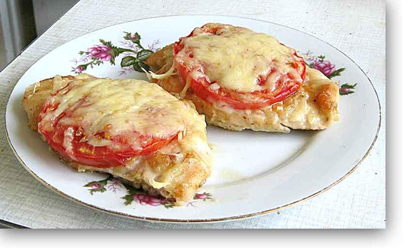 Куриные отбивные с помидорами: 9 сочных рецептов |