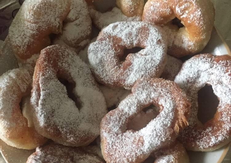 Как приготовить пончики в домашних условиях пончики