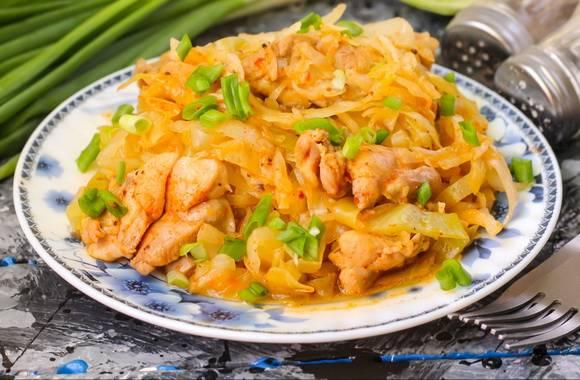Тушеная капуста, рецепты тушеной капусты | вторые блюда