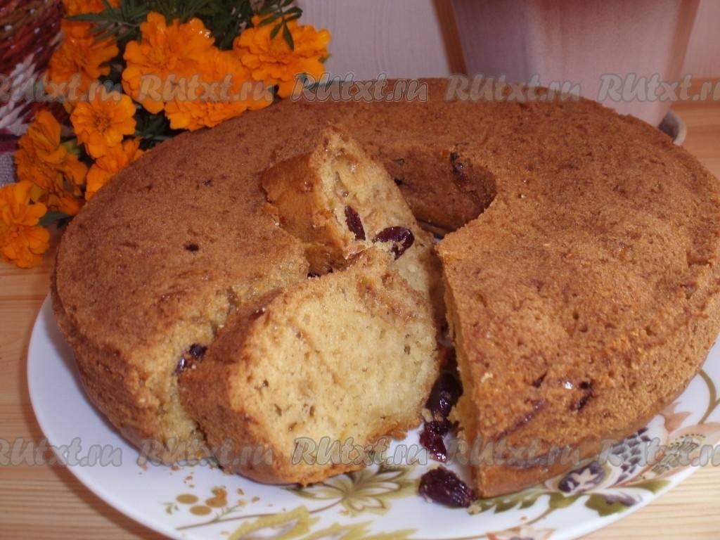 Медовые кексы с клюквой - 9 пошаговых фото в рецепте
