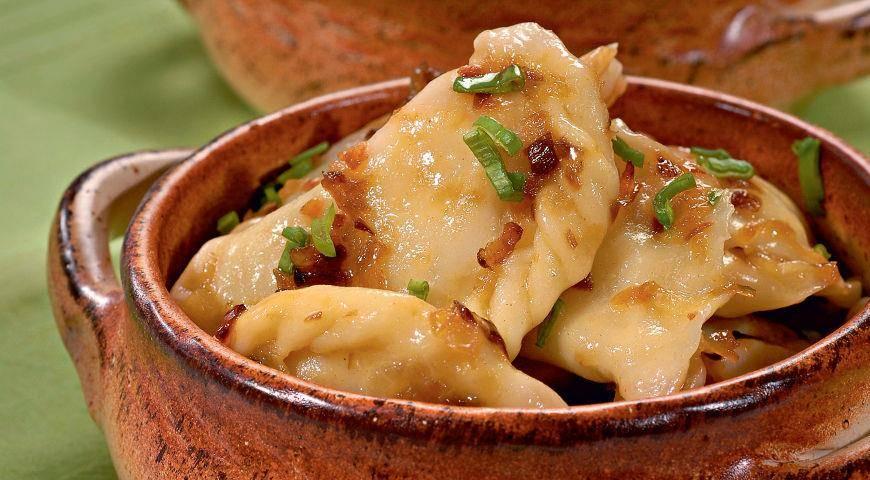 Вареники с картошкой и грибами: домашние рецепты с фото