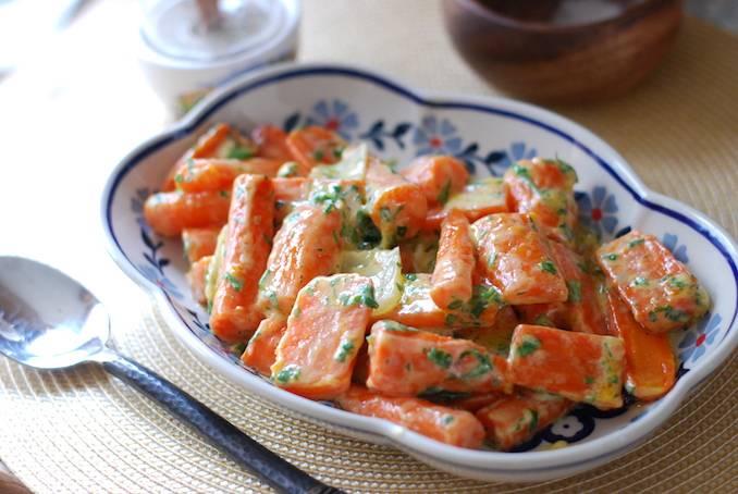 Паренки из моркови в духовке