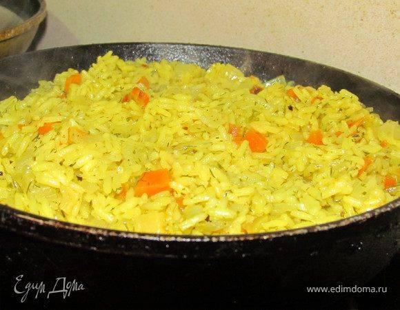 Рис с овощами и грибами - 15 пошаговых фото в рецепте