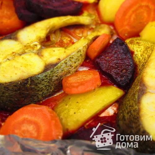 Толстолобик, запеченный в духовке