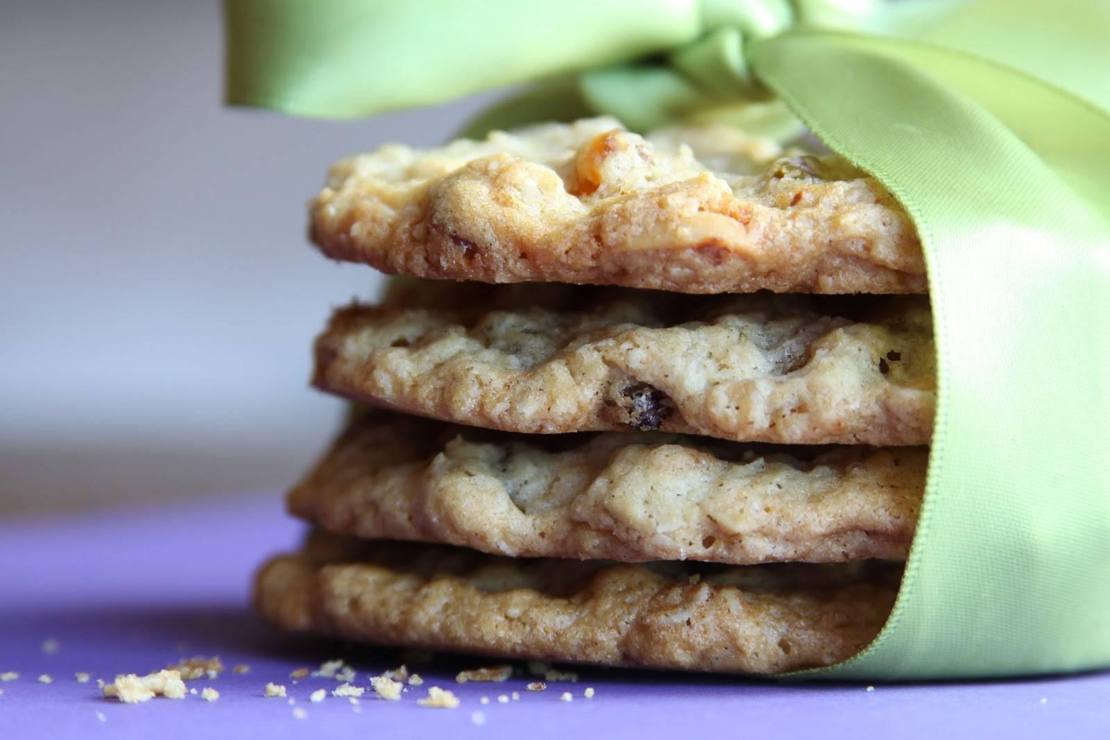 Рецепты печенье с курагой