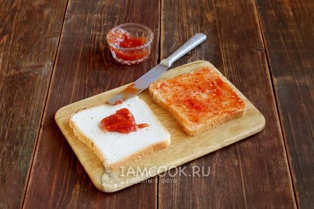 Горячие бутерброды с баклажанами